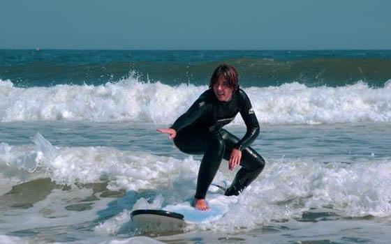 surf beginner espuma