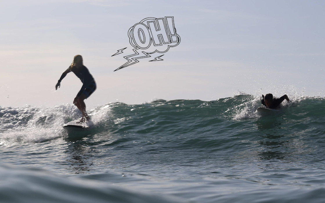 Normas de prioridad surf